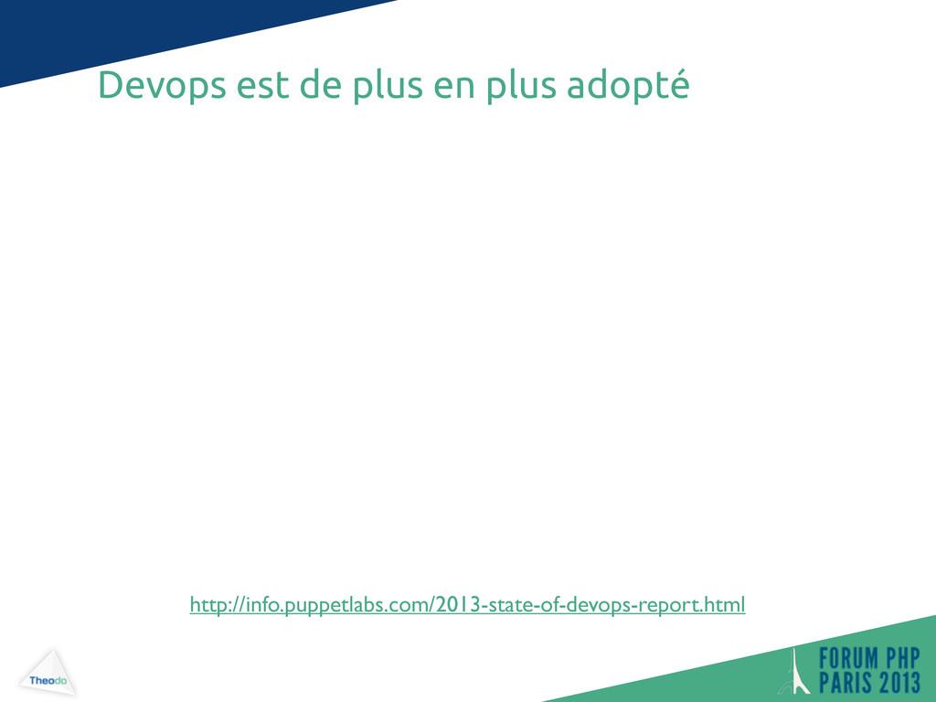 Devops est de plus en plus adopté http://info.p...