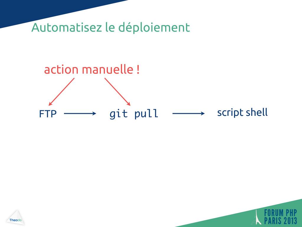 Automatisez le déploiement git pull FTP script ...