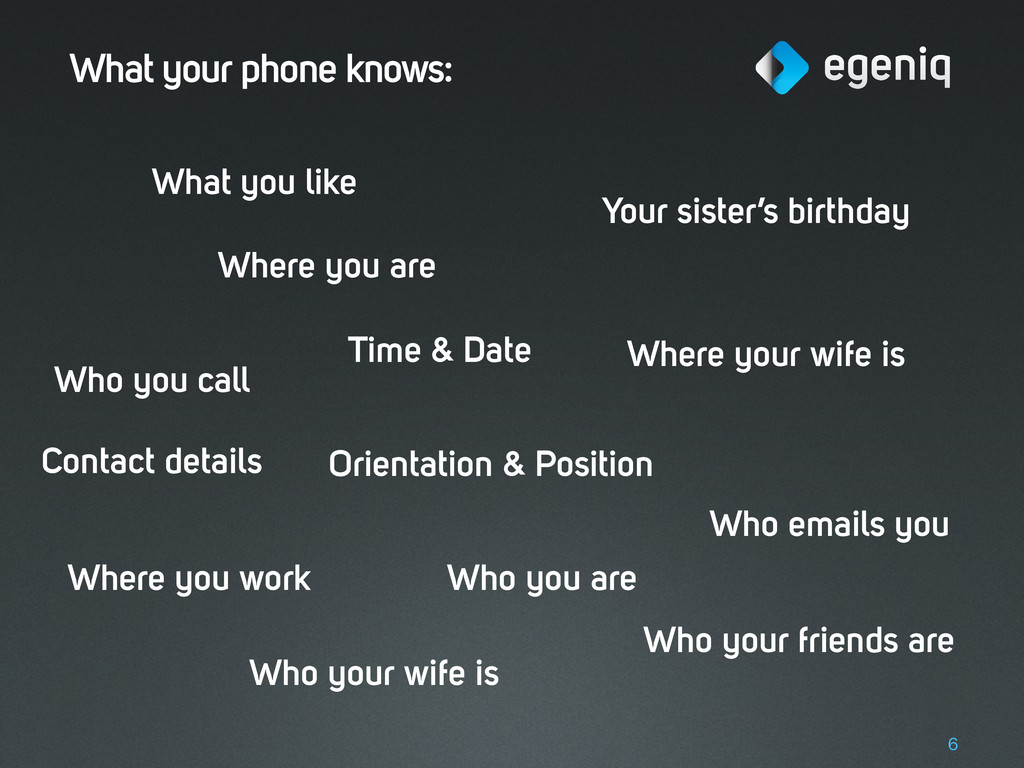 What your phone knows: 6 Where you are Time & D...