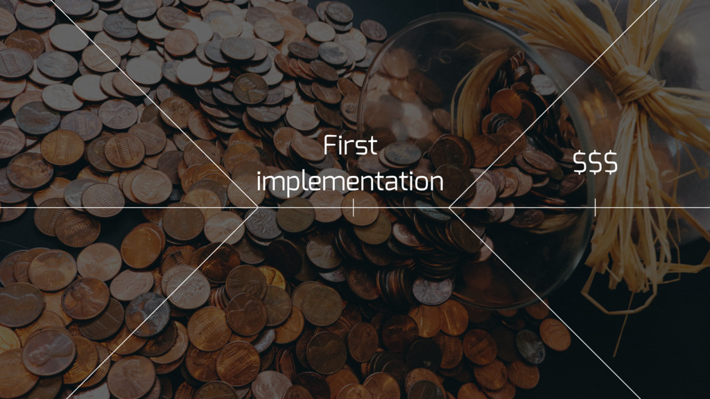 First implementation $$$