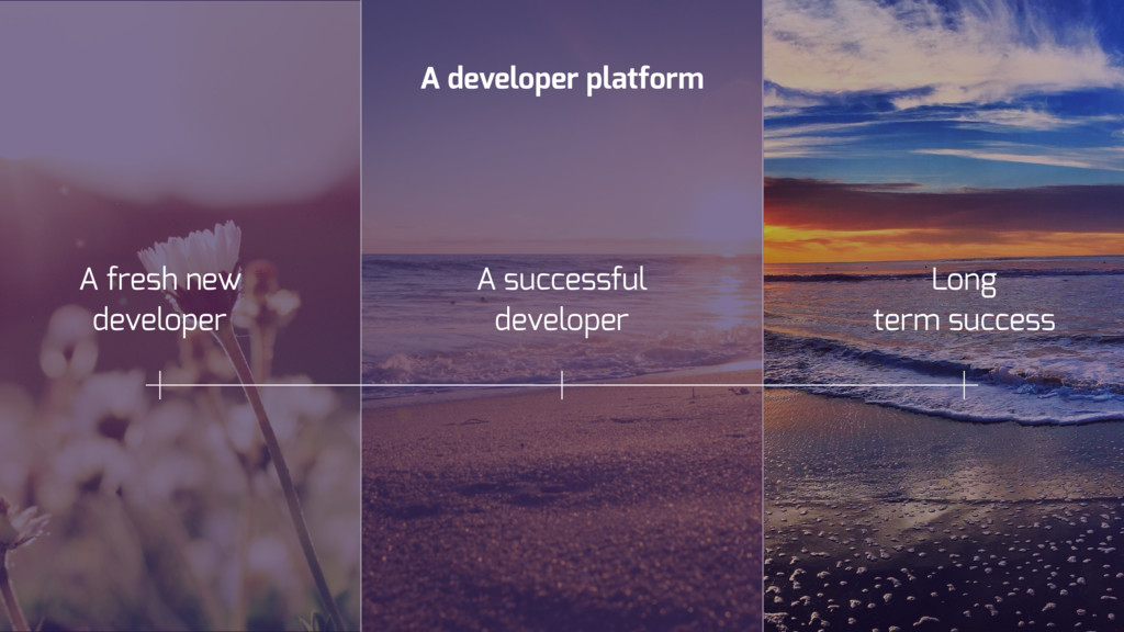 A developer platform A fresh new developer Long...