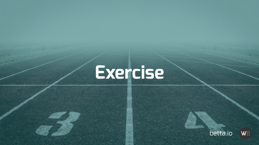 Exercise betta.io