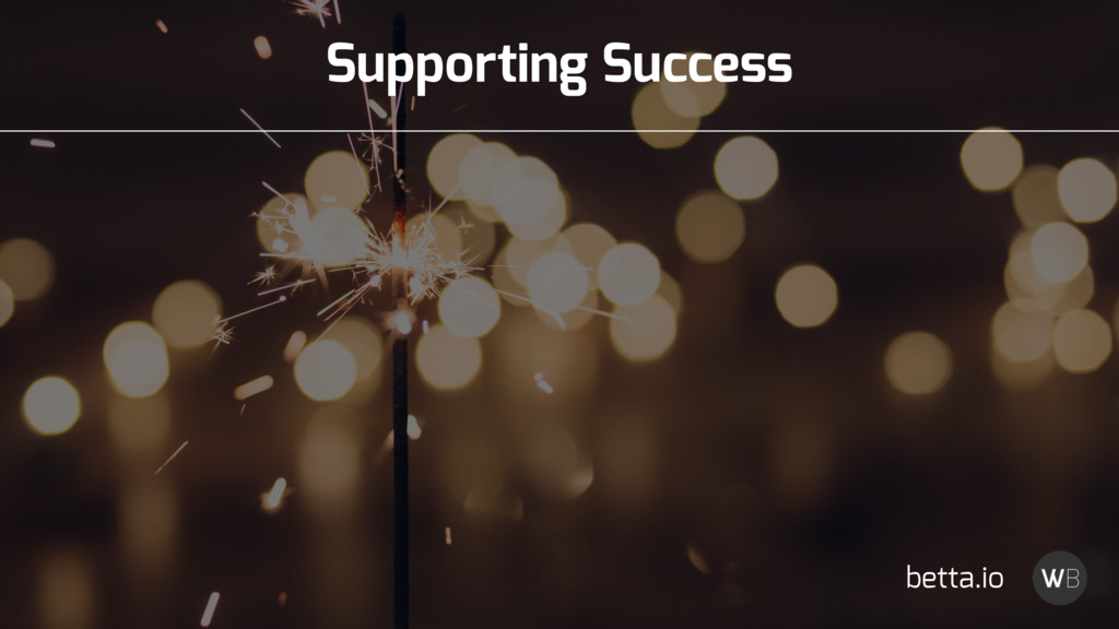 Supporting Success betta.io