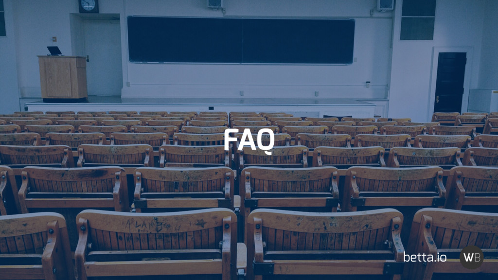 FAQ betta.io