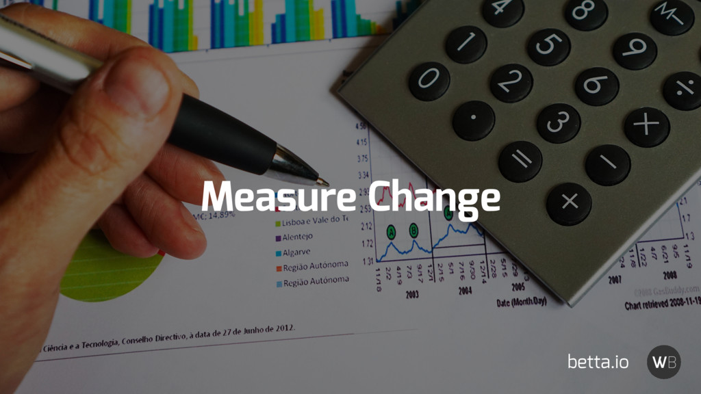 Measure Change betta.io
