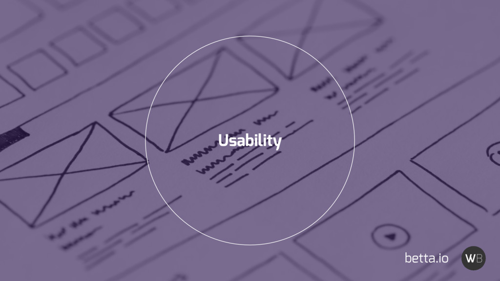 Usability betta.io
