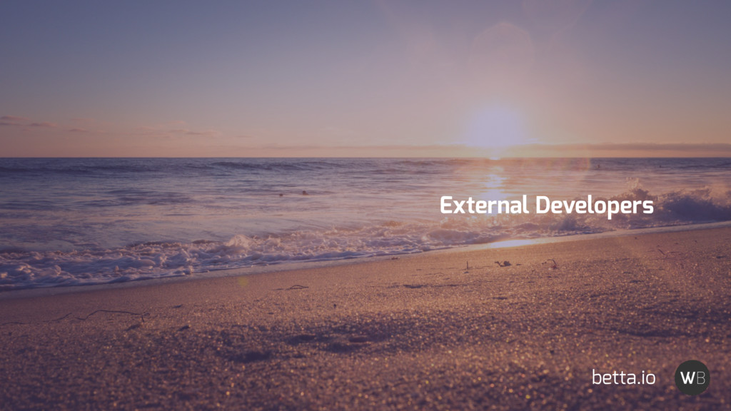 External Developers betta.io