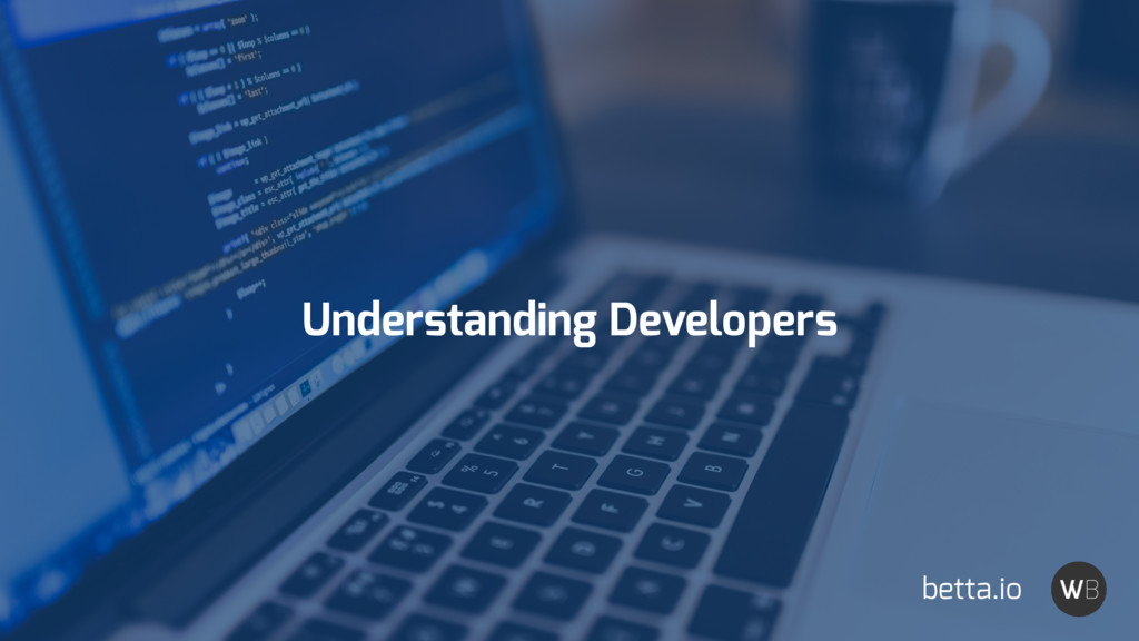 Understanding Developers betta.io