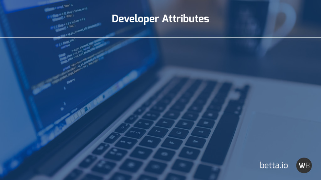 Developer Attributes betta.io