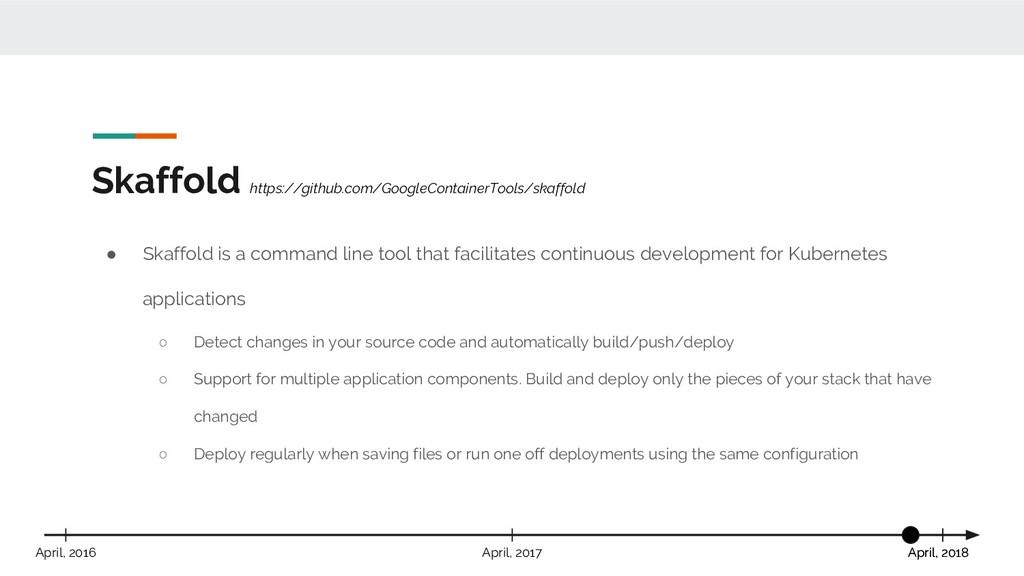 Skaffold https://github.com/GoogleContainerTool...