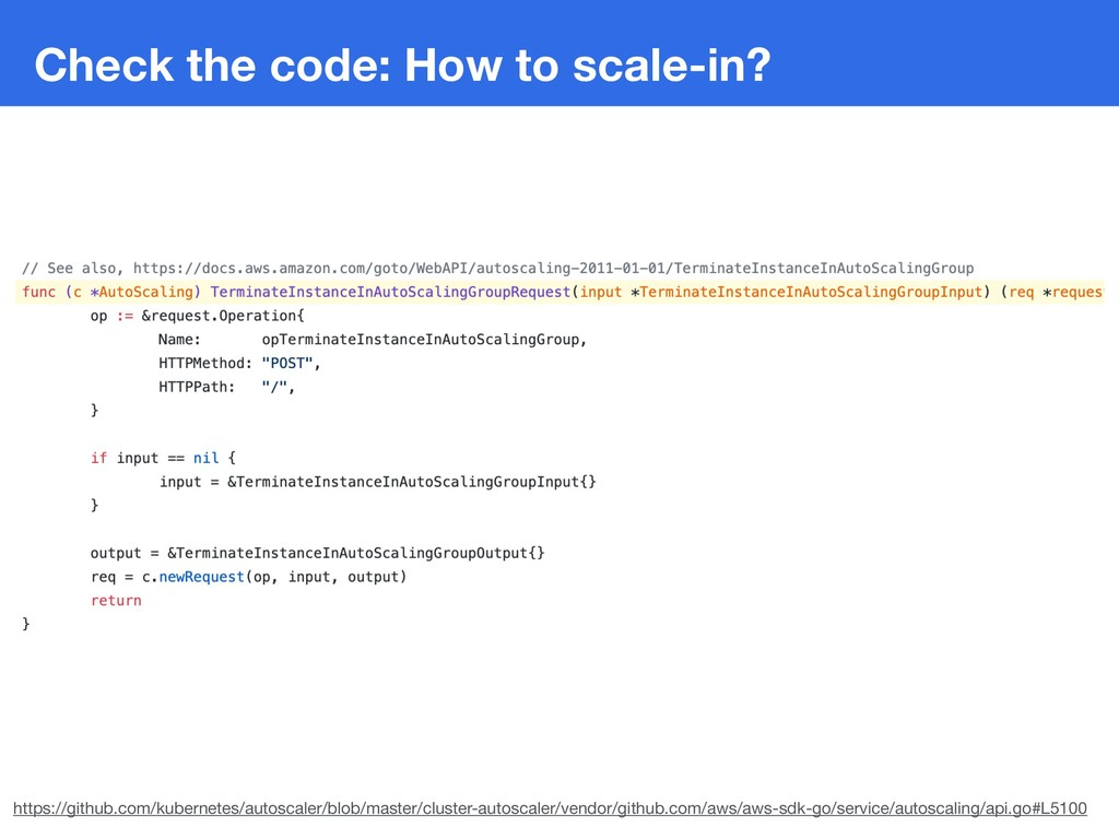 Check the code: How to scale-in? https://github...