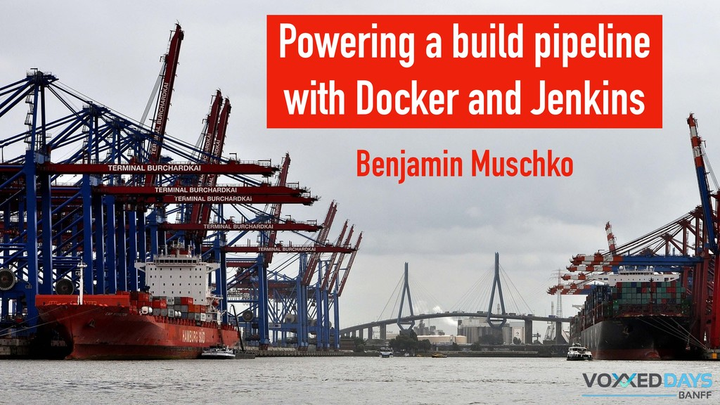 Powering a build pipeline with Docker and Jenki...