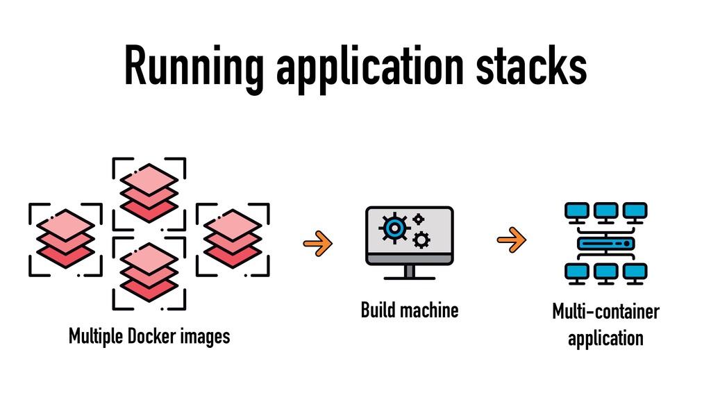 Running application stacks Multiple Docker imag...