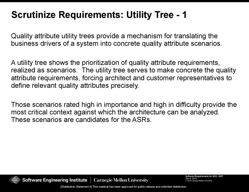 Software Requirements for S2I2 - HEP Dec 8, 201...