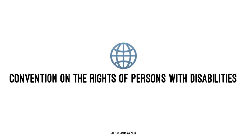 ! CONVENTION ON THE RIGHTS OF PERSONS WITH DISA...