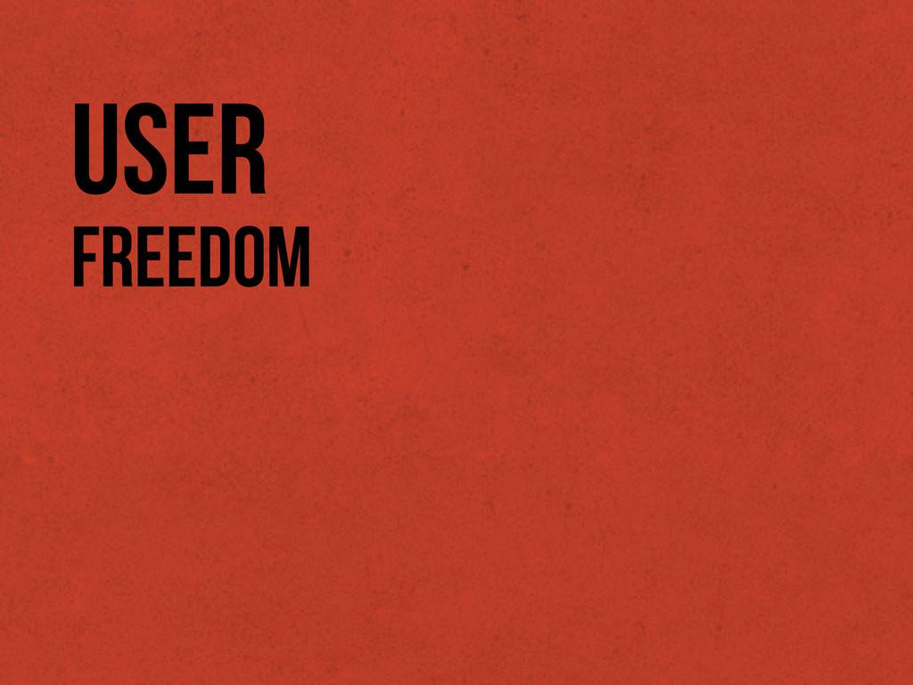 Freedom User