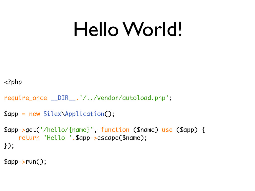 Hello World! <?php require_once __DIR__.'/../ve...