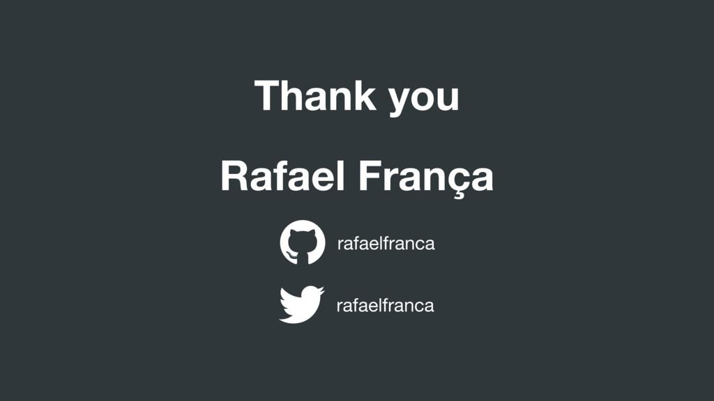 Rafael França rafaelfranca rafaelfranca Thank y...