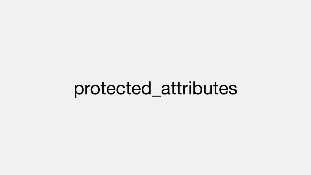 protected_attributes