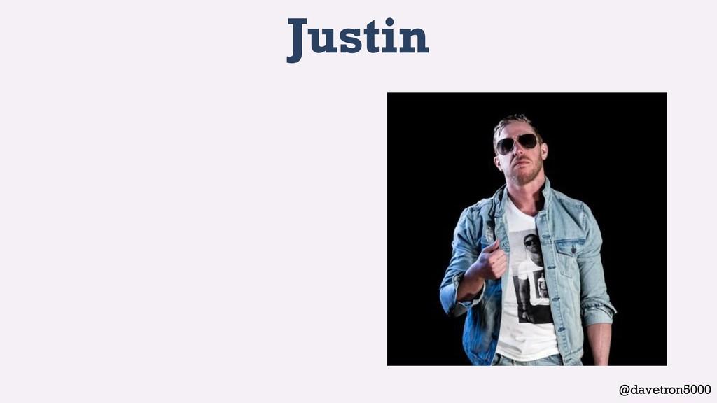@davetron5000 Justin