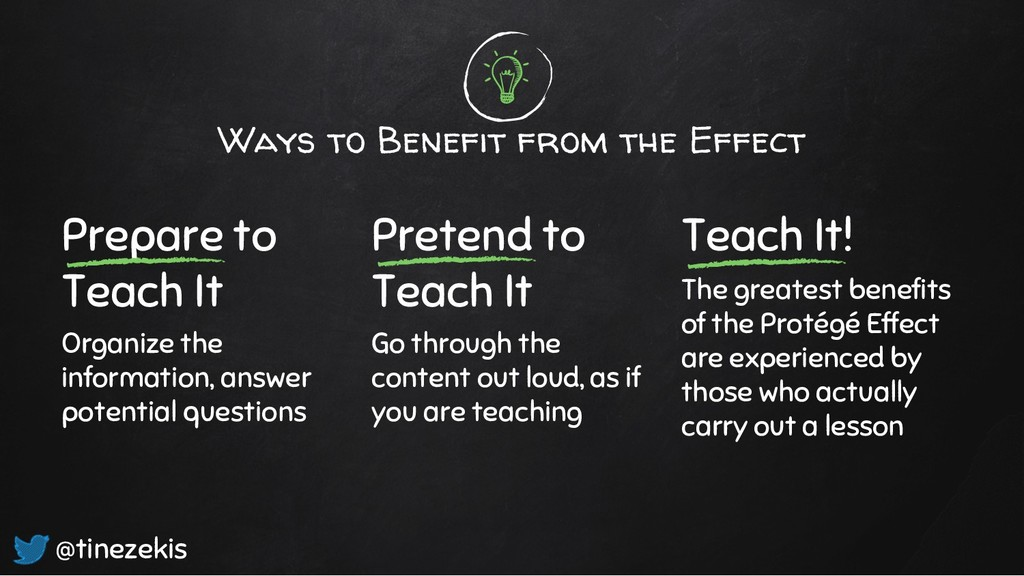 Ways to Benefit from the Effect Prepare to Teac...