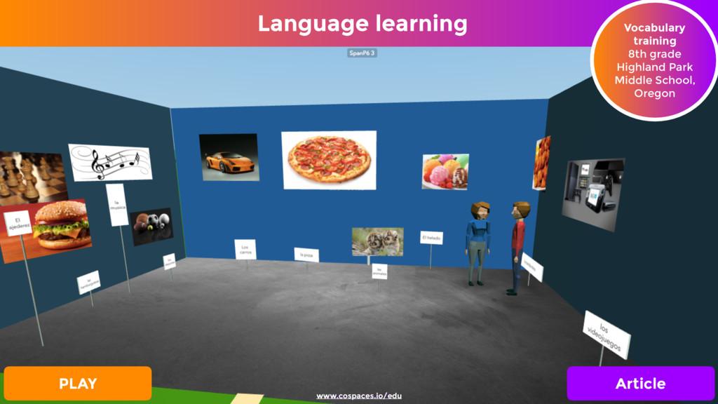 Language learning Vocabulary training 8th grad...