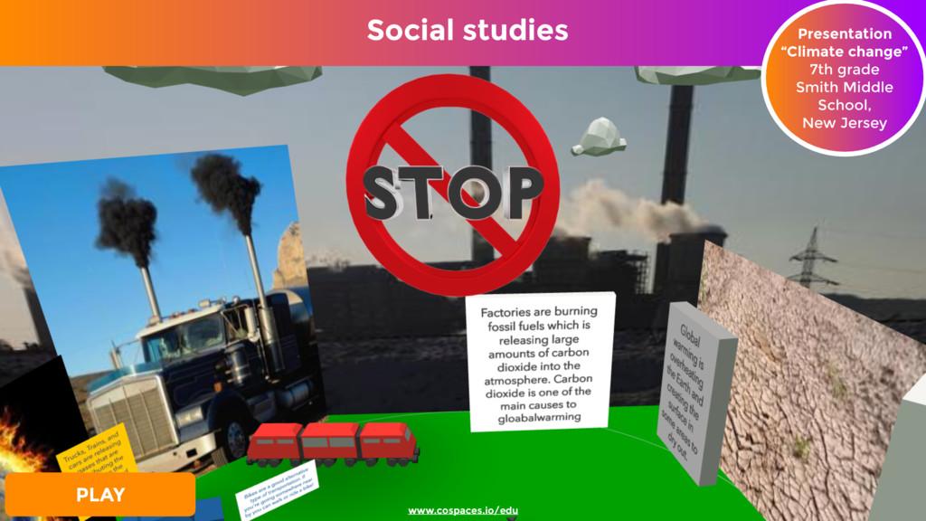 "Social studies Presentation ""Climate change"" 7..."