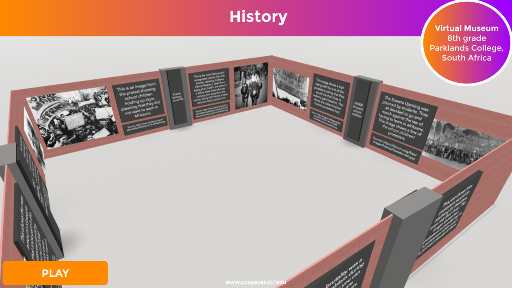 History Virtual Museum 8th grade Parklands Coll...