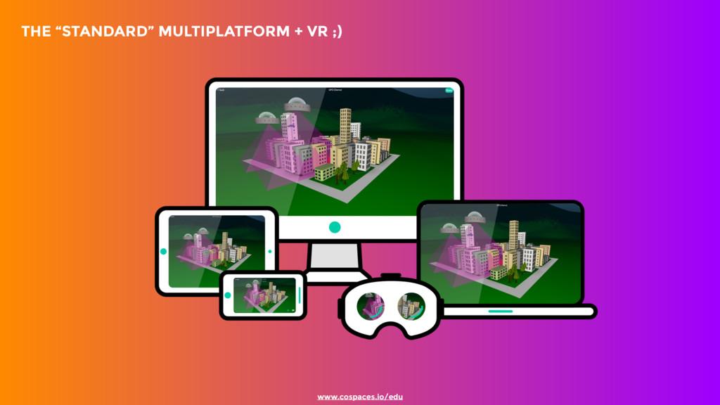 """THE """"STANDARD"""" MULTIPLATFORM + VR ;) www.cosp..."""