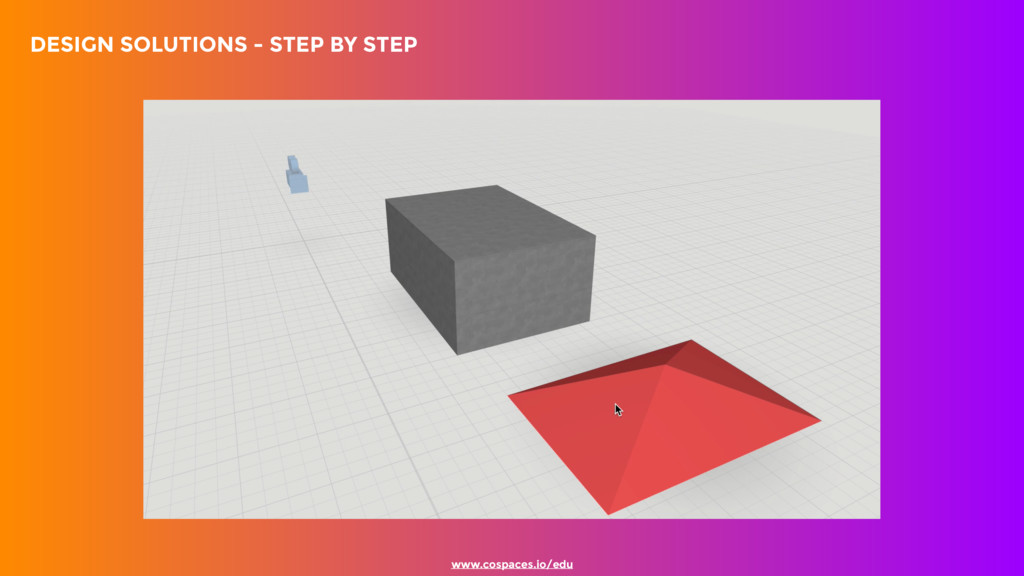 DESIGN SOLUTIONS - STEP BY STEP www.cospaces....