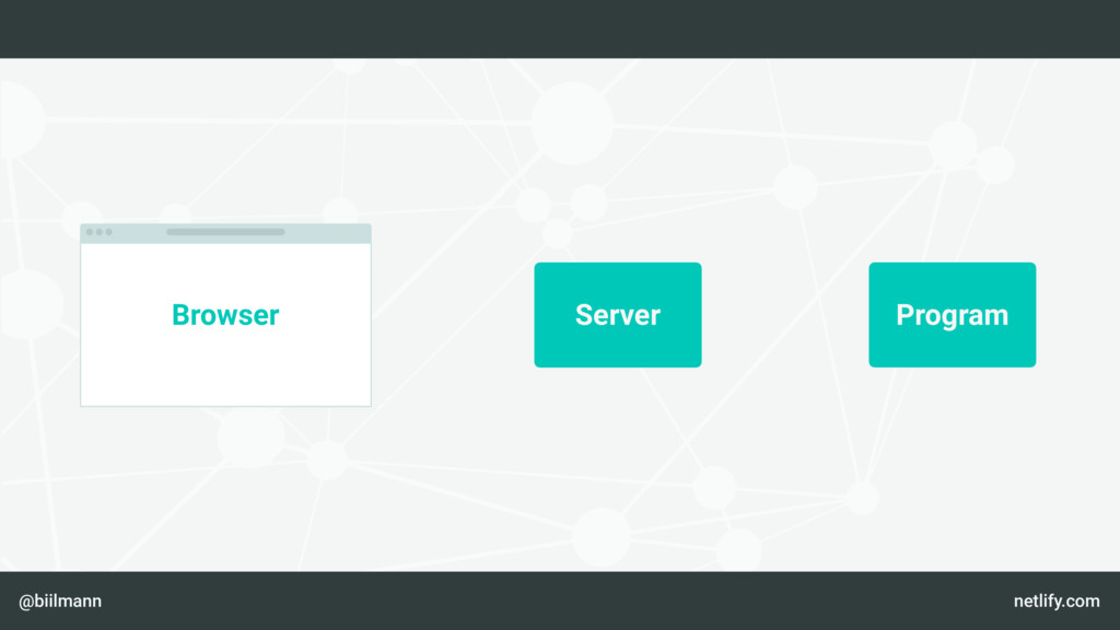 @biilmann netlify.com Server Program Browser