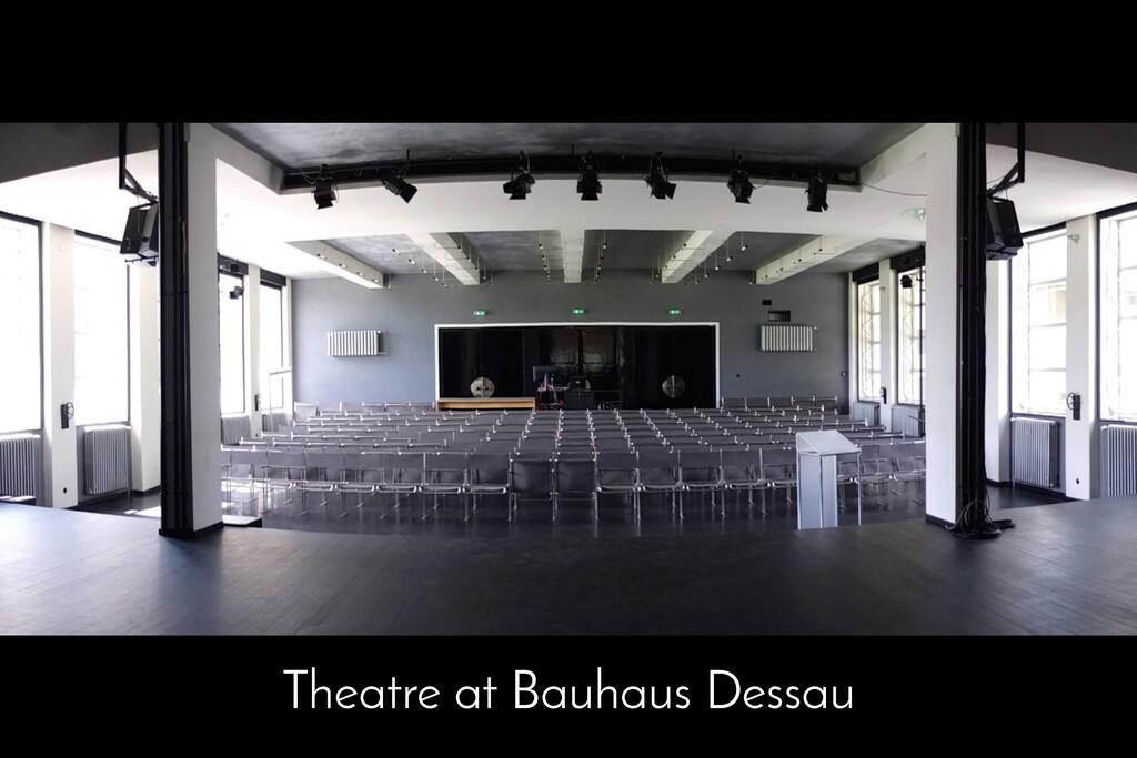 Theatre at Bauhaus Dessau