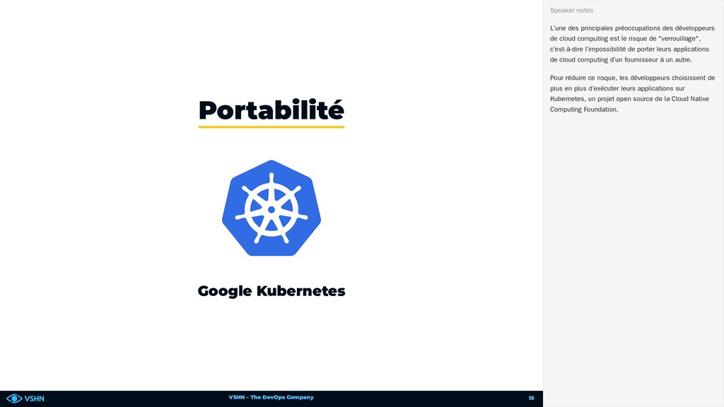VSHN – The DevOps Company Google Kubernetes Por...
