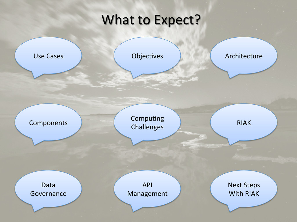 What to Expect?  Use Cases   ...