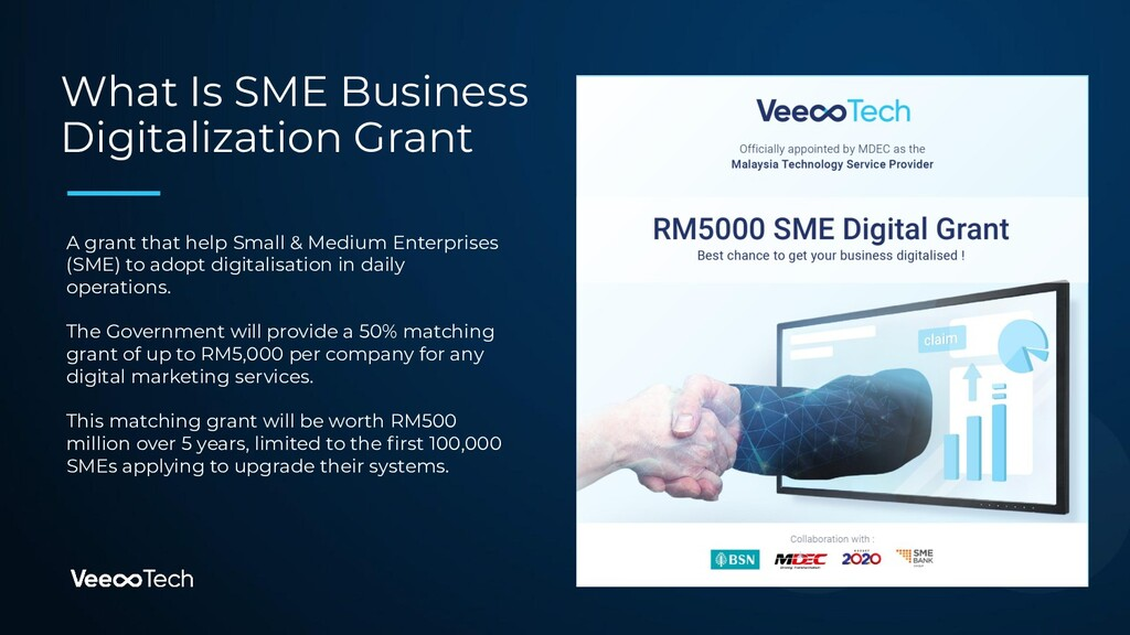 What Is SME Business Digitalization Grant A gra...