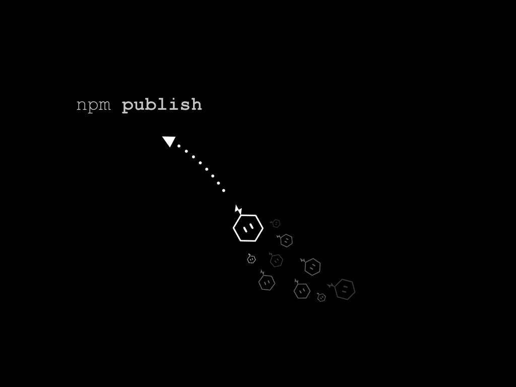 npm publish