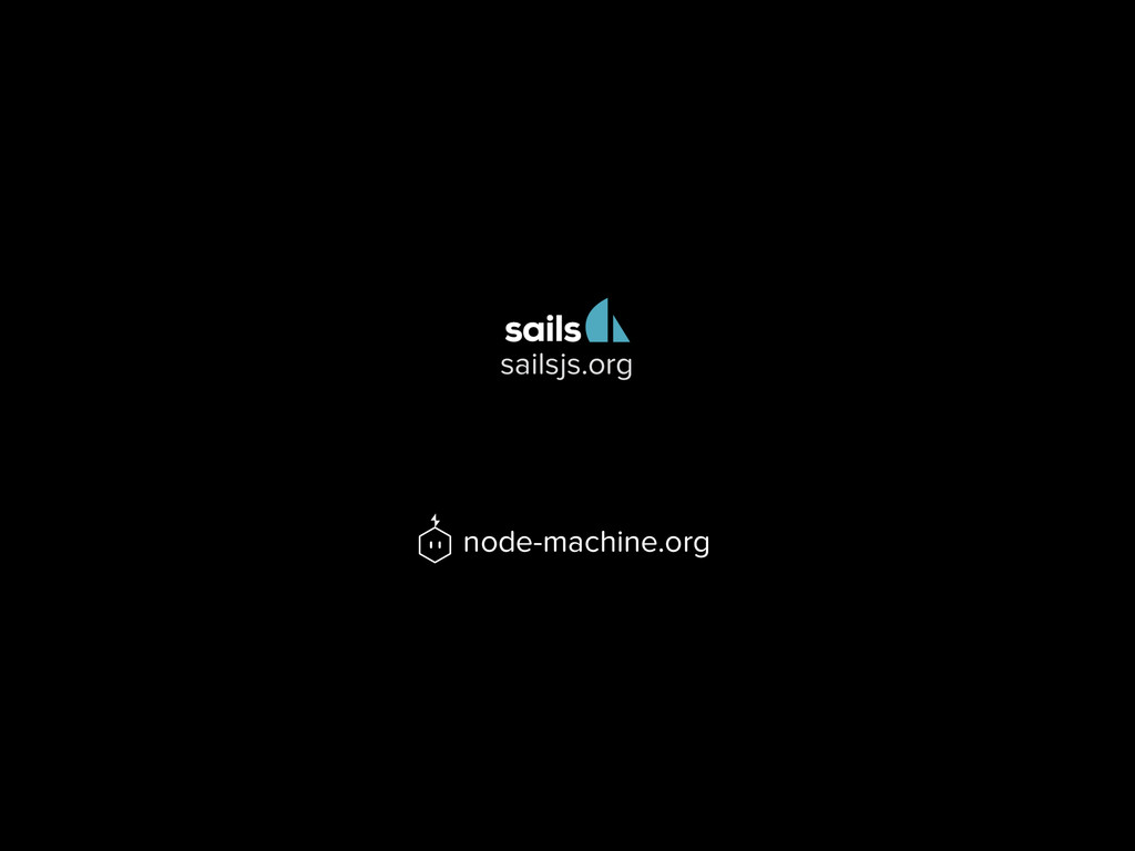 node-machine.org sailsjs.org