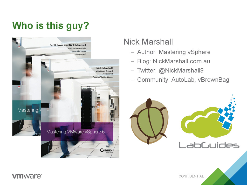 CONFIDENTIAL Who is this guy? Nick Marshall – A...