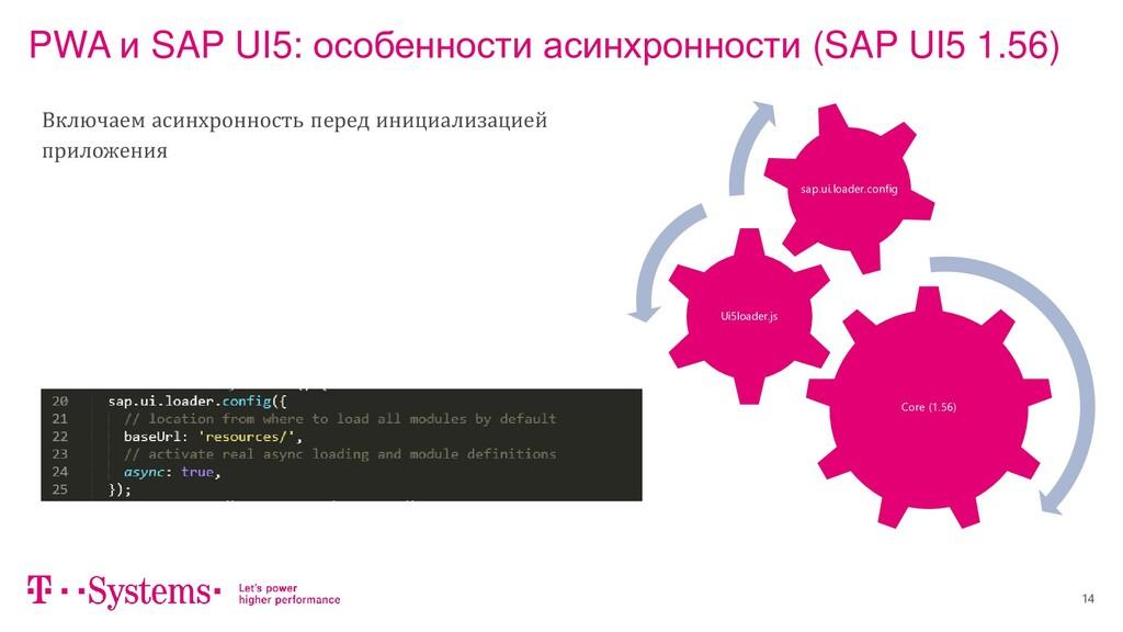 14 PWA и SAP UI5: особенности асинхронности (SA...