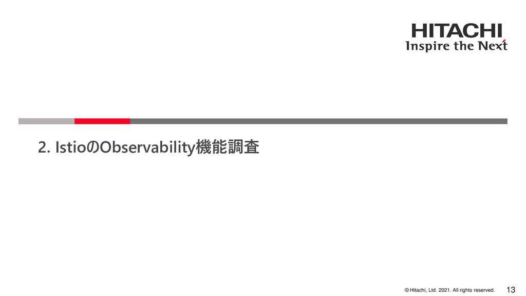 © Hitachi, Ltd. 2021. All rights reserved. 2. I...