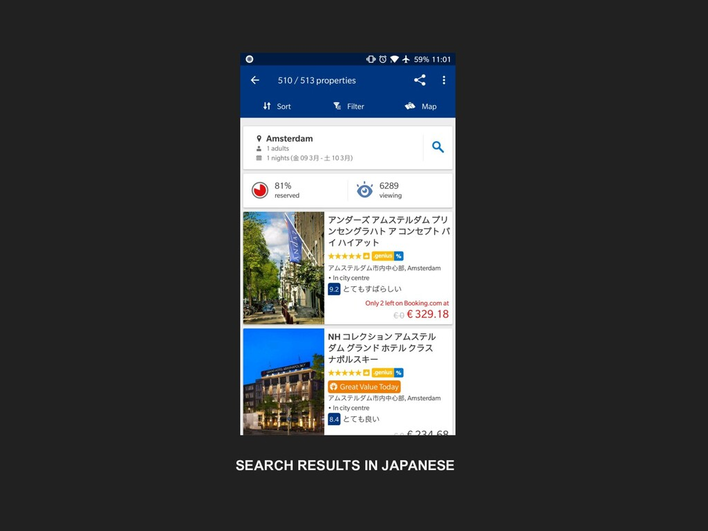 SEARCH RESULTS IN JAPANESE