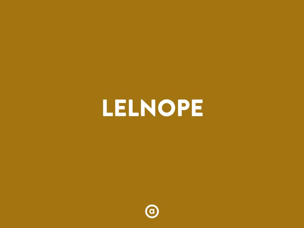 LELNOPE