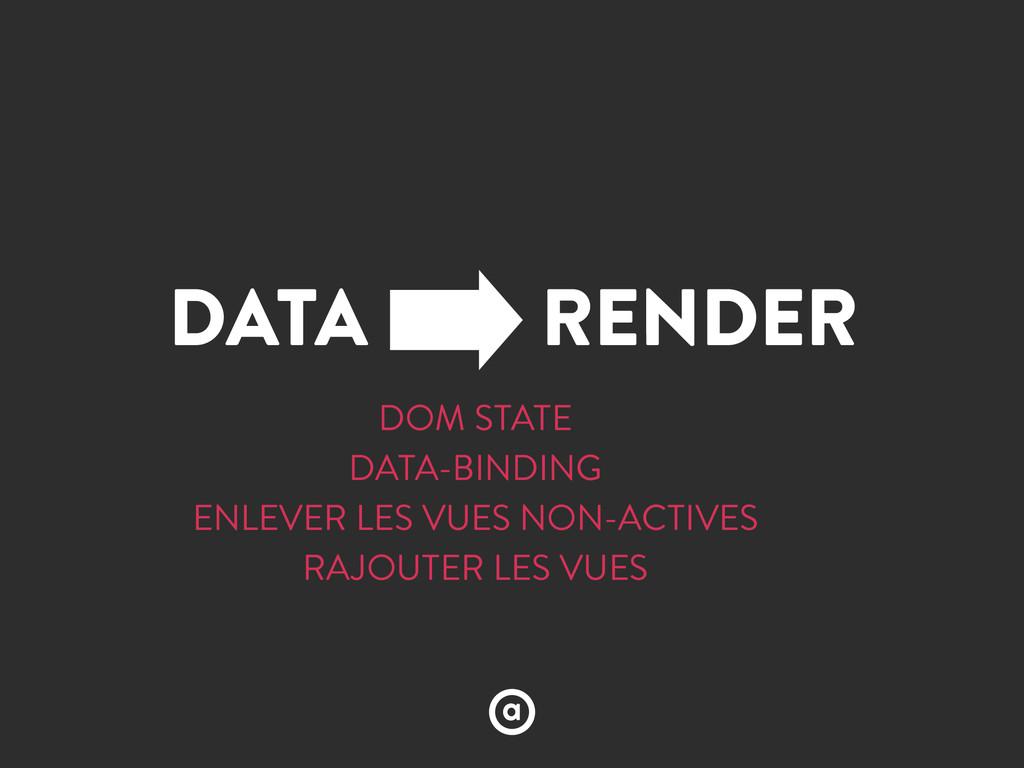 DATA RENDER DOM STATE DATA-BINDING ENLEVER LES ...