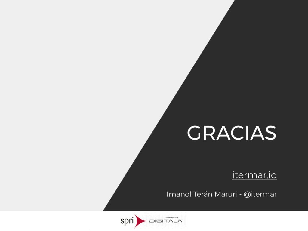 Imanol Terán Maruri - @itermar GRACIAS itermar....