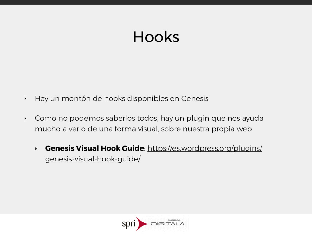 Hooks ‣ Hay un montón de hooks disponibles en G...