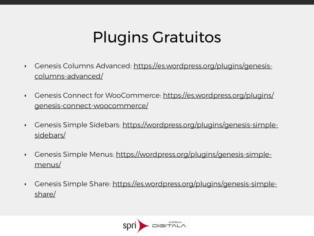 Plugins Gratuitos ‣ Genesis Columns Advanced: h...