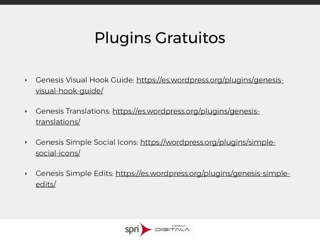 Plugins Gratuitos ‣ Genesis Visual Hook Guide: ...