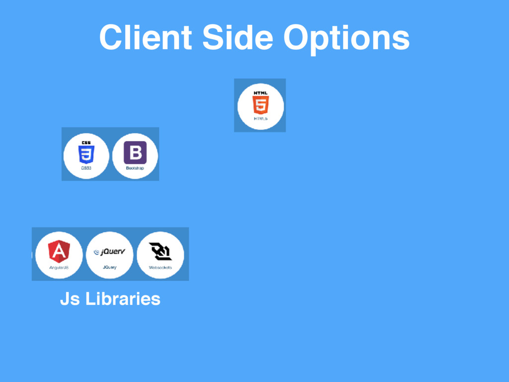 Client Side Options Js Libraries