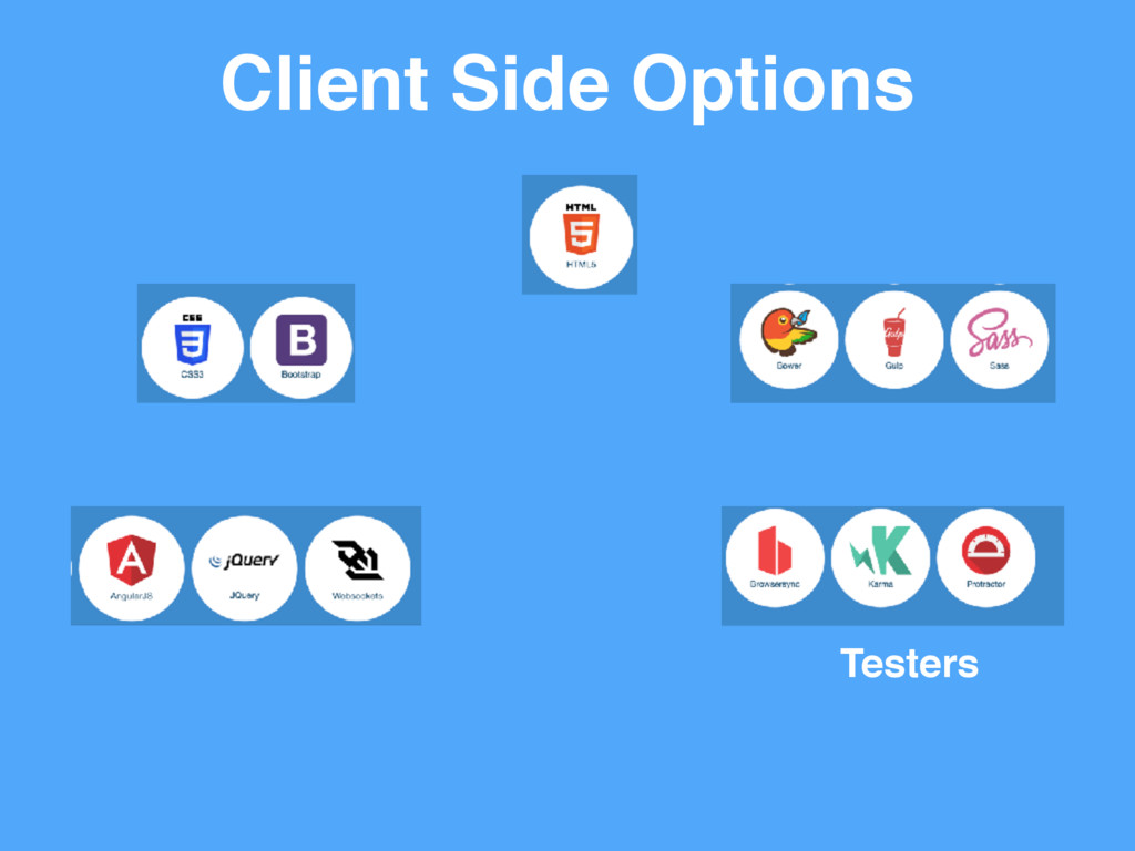 Client Side Options Testers