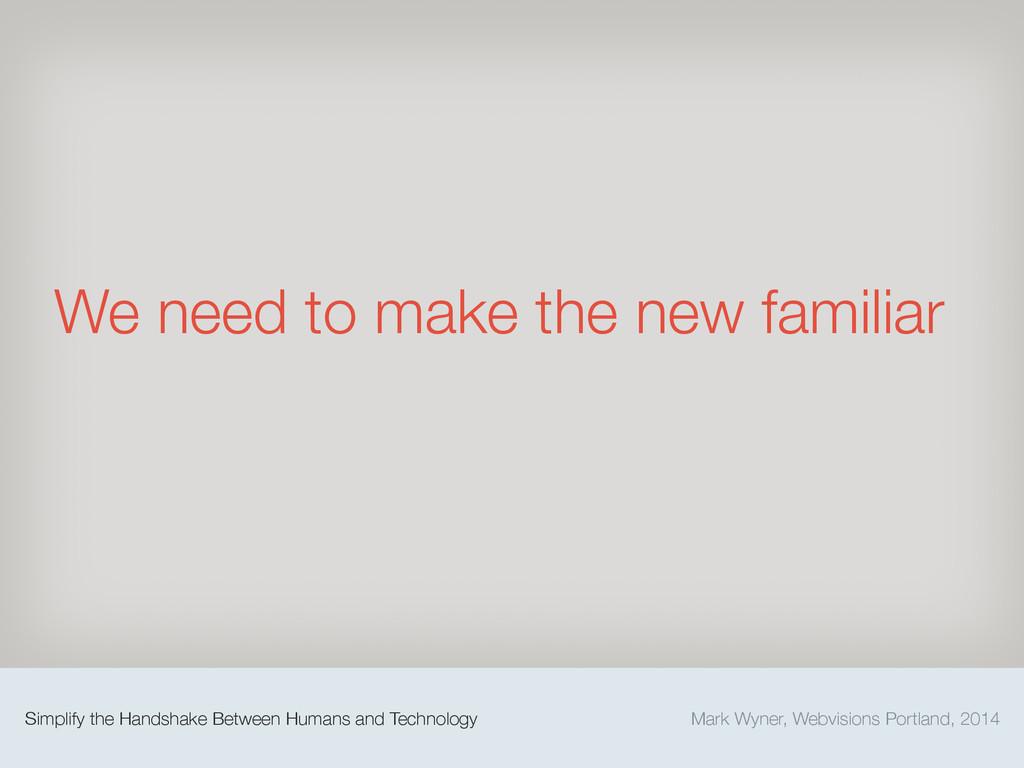 Mark Wyner, Webvisions Portland, 2014 Simplify ...